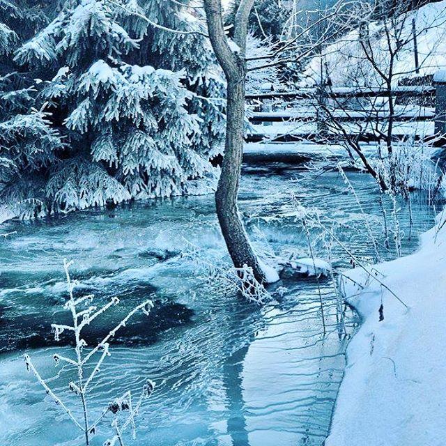 Ndhern obraz mrazivej zimy v Ninej Boci od vladosak