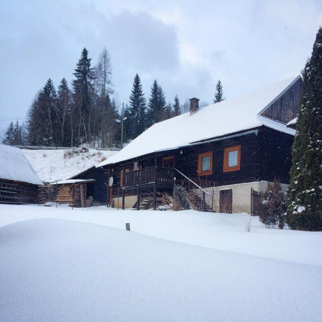 Zimn idylka na Ninej Boci