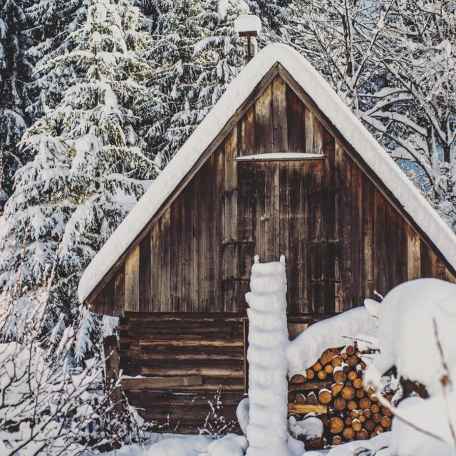 Zima v Ninej Boci Foto Martin Gaal