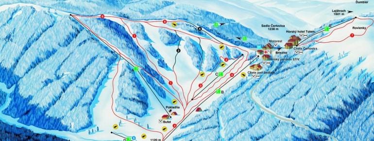 Ski centrum Čertovica (zdroj: snow-online.com)