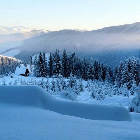 Nedotknut zimn krsa na Salakch v Ninej Boci Foto Jozefhellip
